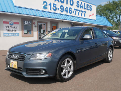2009 Audi A4 for sale at B & D Auto Sales Inc. in Fairless Hills PA