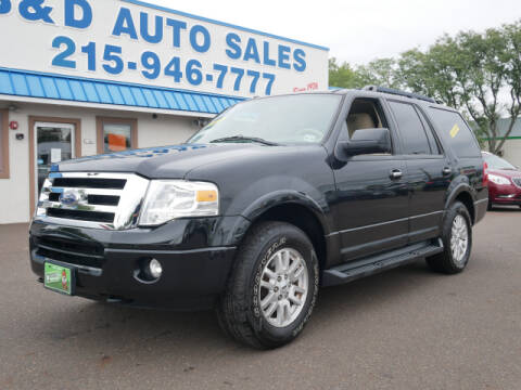 2014 Ford Expedition for sale at B & D Auto Sales Inc. in Fairless Hills PA