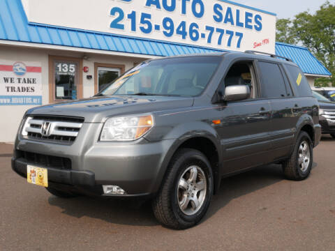 2007 Honda Pilot for sale at B & D Auto Sales Inc. in Fairless Hills PA
