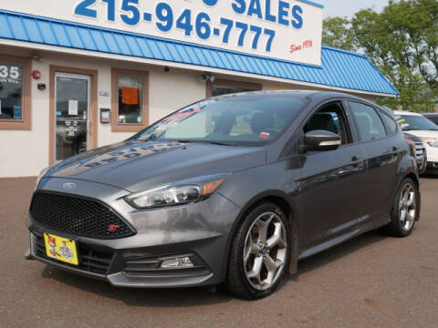 2015 Ford Focus for sale at B & D Auto Sales Inc. in Fairless Hills PA