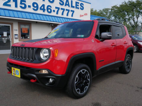 2015 Jeep Renegade for sale at B & D Auto Sales Inc. in Fairless Hills PA