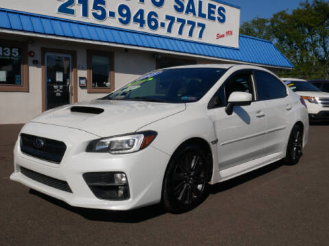 2015 Subaru WRX for sale at B & D Auto Sales Inc. in Fairless Hills PA
