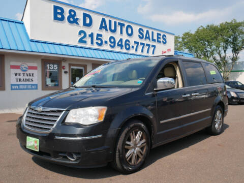 2008 Chrysler Town and Country for sale at B & D Auto Sales Inc. in Fairless Hills PA