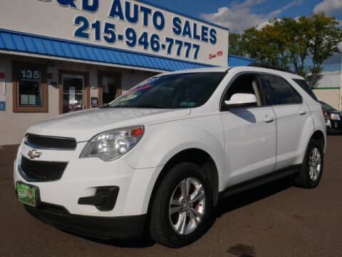 2013 Chevrolet Equinox for sale at B & D Auto Sales Inc. in Fairless Hills PA