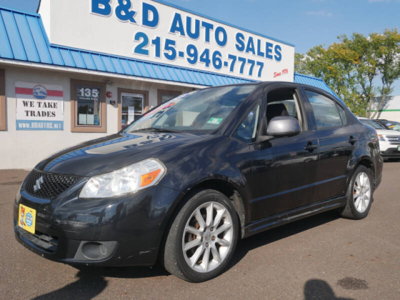 2008 Suzuki SX4 for sale at B & D Auto Sales Inc. in Fairless Hills PA