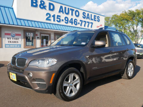 2012 BMW X5 for sale at B & D Auto Sales Inc. in Fairless Hills PA