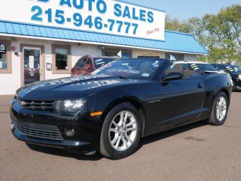 2014 Chevrolet Camaro for sale at B & D Auto Sales Inc. in Fairless Hills PA