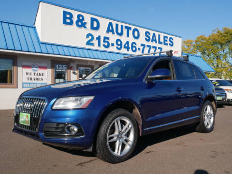 2014 Audi Q5 for sale at B & D Auto Sales Inc. in Fairless Hills PA