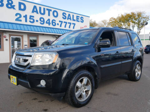 2010 Honda Pilot for sale at B & D Auto Sales Inc. in Fairless Hills PA