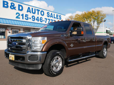 2011 Ford F-250 Super Duty for sale at B & D Auto Sales Inc. in Fairless Hills PA