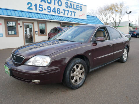 2000 Mercury Sable for sale at B & D Auto Sales Inc. in Fairless Hills PA