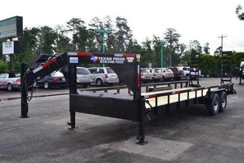 2021 TEXAS PRIDE 24ft. LOWBOY 14K for sale at Montgomery Trailer Sales - Texas Pride in Conroe TX