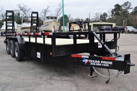 2016 TEXAS PRIDE Lowboy Equipment Trailer 21K