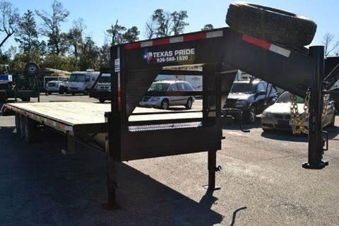2021 TEXAS PRIDE 32' Gooseneck for sale at Montgomery Trailer Sales - Texas Pride in Conroe TX