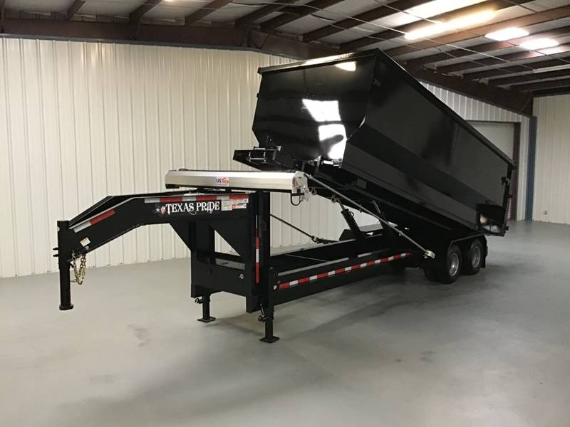 2021 TEXAS PRIDE HEAVY DUTY ROLL OFF TRAILERS for sale at Montgomery Trailer Sales - Texas Pride in Conroe TX