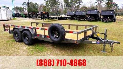"2020 C-5 83"" X 18' Lowboy for sale at Montgomery Trailer Sales in Conroe TX"