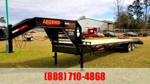 2020 LEGEND 30' Gooseneck 14K Deckover for sale at Montgomery Trailer Sales in Conroe TX