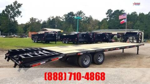 2020 LEGEND 32' Flatbed Gooseneck 22K for sale at Montgomery Trailer Sales in Conroe TX