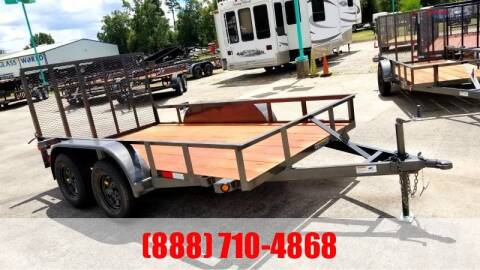 "2020 C-5 76"" X 14' Bumper Pull Utility for sale at Montgomery Trailer Sales in Conroe TX"