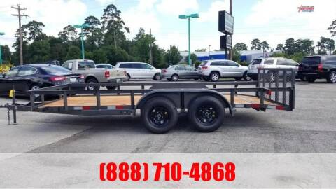 "2020 C-5 76"" X 16' Bumper Pull Utility for sale at Montgomery Trailer Sales in Conroe TX"