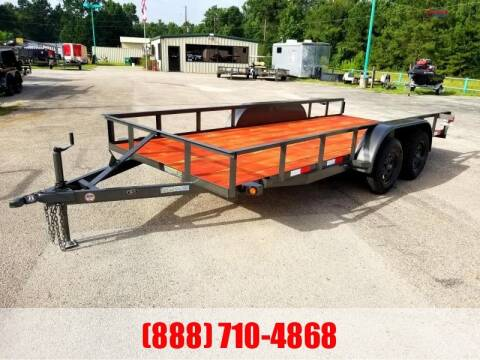 "2020 C-5 76"" X 16' Bumper Pull Lowboy for sale at Montgomery Trailer Sales in Conroe TX"