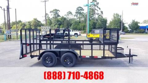 "2020 C-5 76"" X 14' Landscape Trailer for sale at Montgomery Trailer Sales in Conroe TX"