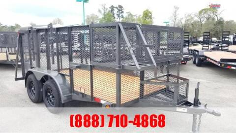 "2020 C-5 76"" X 12' Landscape Trailer for sale at Montgomery Trailer Sales in Conroe TX"