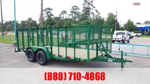 "2020 C-5 76"" X 16' Landscape Trailer for sale at Montgomery Trailer Sales in Conroe TX"