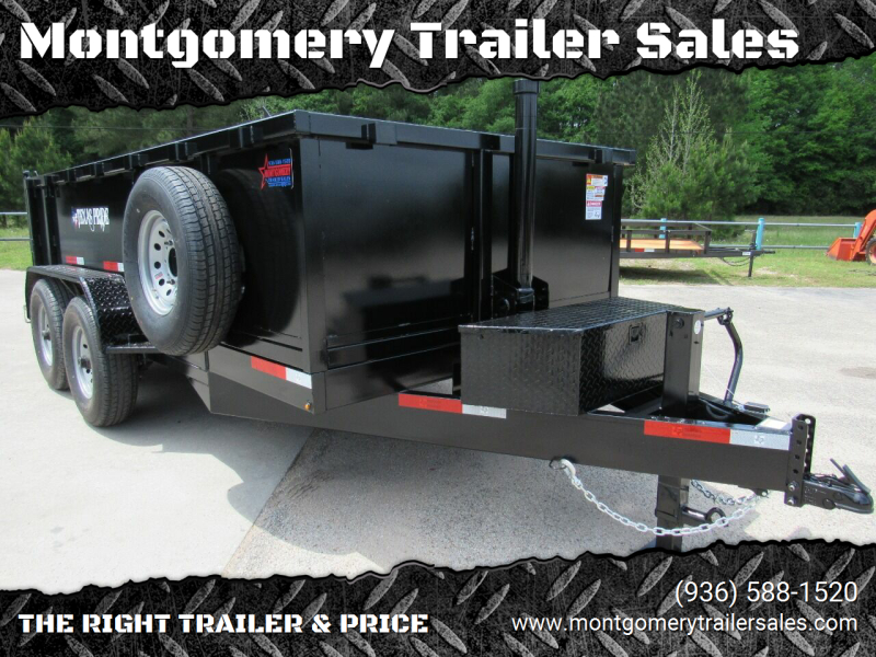 2021 TEXAS PRIDE 7' X 14' X 3' Bumper Pull 16K for sale at Montgomery Trailer Sales - Texas Pride in Conroe TX