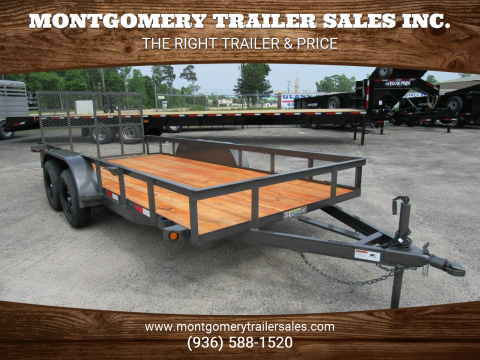 "2020 C-5 76"" X 16' Utility Trailer for sale at Montgomery Trailer Sales in Conroe TX"