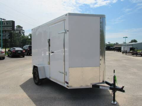 2020 Big Chief 6' X 10' Extra Height for sale at Montgomery Trailer Sales in Conroe TX