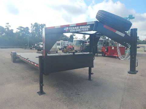 2016 TEXAS PRIDE 7' X 36' Gooseneck Car Hauler