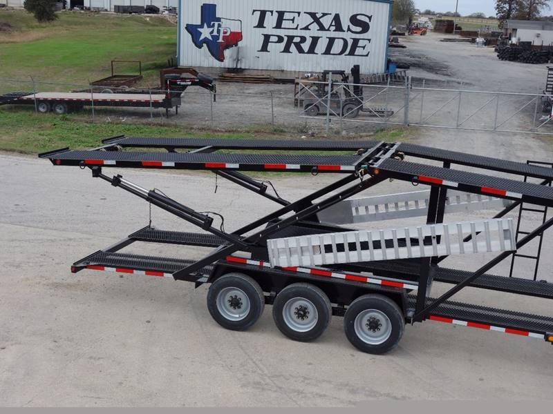 2019 Texas Pride 44 5 Car Hauler 26k Gvwr Conroe Tx Conroe Texas