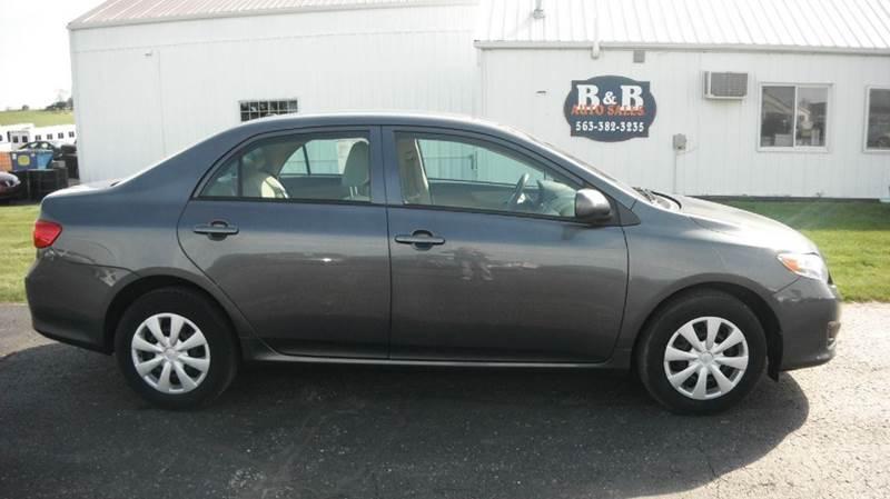 2010 Toyota Corolla for sale at B & B Sales 1 in Decorah IA