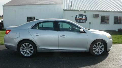 2013 Chevrolet Malibu for sale at B & B Sales 1 in Decorah IA