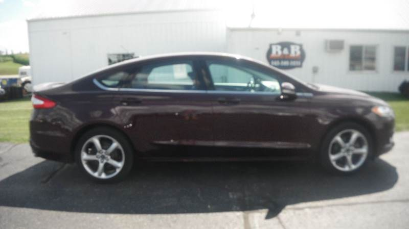 2013 Ford Fusion for sale at B & B Sales 1 in Decorah IA