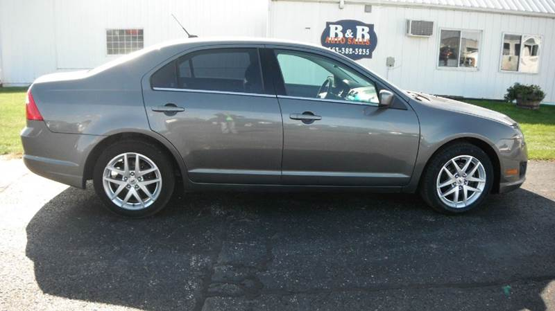 2010 Ford Fusion for sale at B & B Sales 1 in Decorah IA