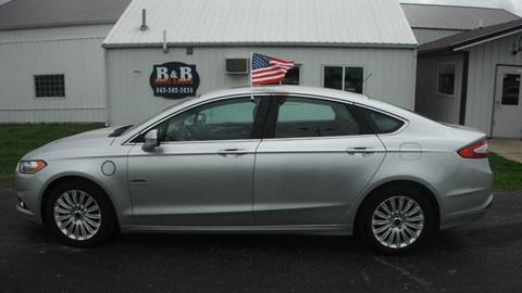 2016 Ford Fusion Energi for sale at B & B Sales 1 in Decorah IA