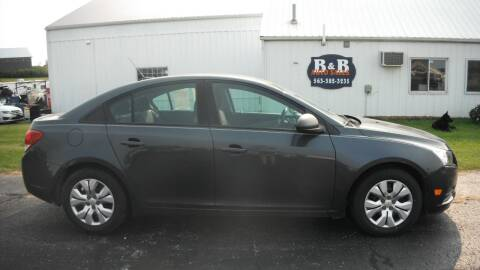 2013 Chevrolet Cruze for sale at B & B Sales 1 in Decorah IA