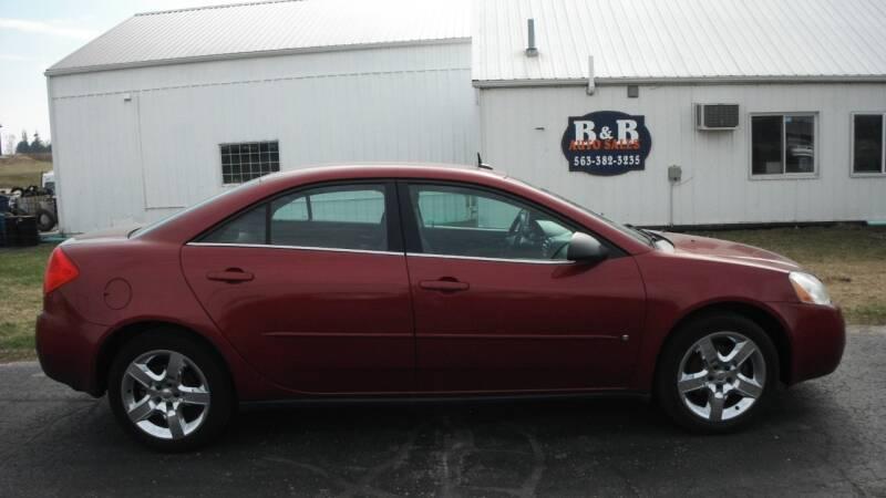 2008 Pontiac G6 for sale at B & B Sales 1 in Decorah IA