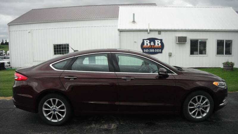 2017 Ford Fusion for sale at B & B Sales 1 in Decorah IA