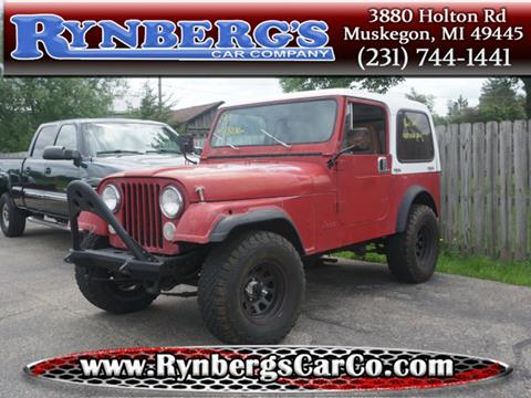 1983 Jeep CJ-7 for sale in Muskegon, MI