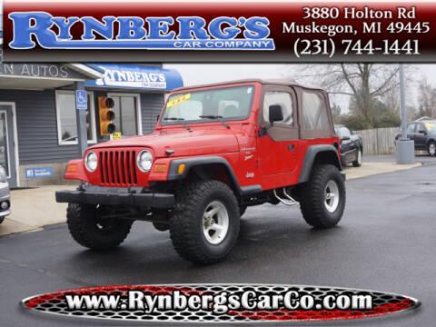 2000 Jeep Wrangler for sale in Muskegon, MI