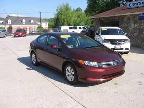 2012 Honda Civic for sale in Ellijay, GA