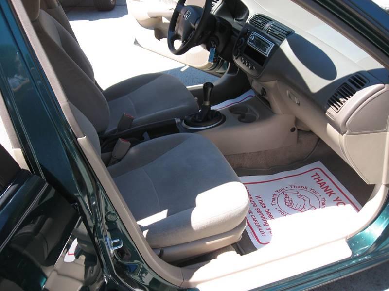 2001 Honda Civic LX 4dr Sedan - Ellijay GA
