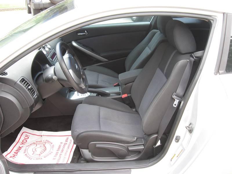 2008 Nissan Altima 2.5 S 2dr Coupe CVT - Ellijay GA