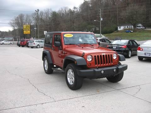 2009 Jeep Wrangler for sale in Ellijay, GA