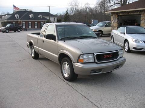 2002 GMC Sonoma for sale in Ellijay, GA