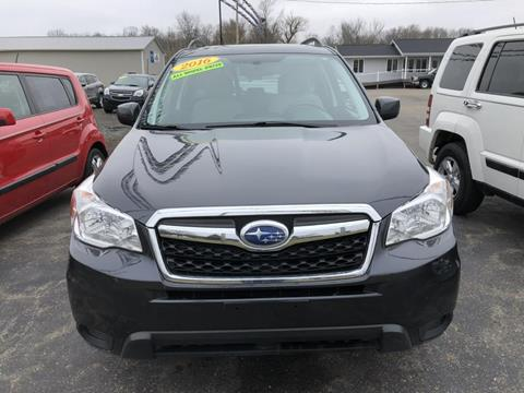 used 2016 subaru forester for sale in michigan. Black Bedroom Furniture Sets. Home Design Ideas