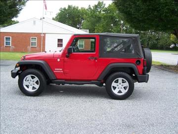 2010 Jeep Wrangler for sale in Sparrows Point, MD